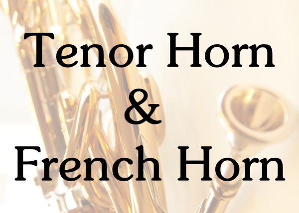 Tenor Horn & French Horn